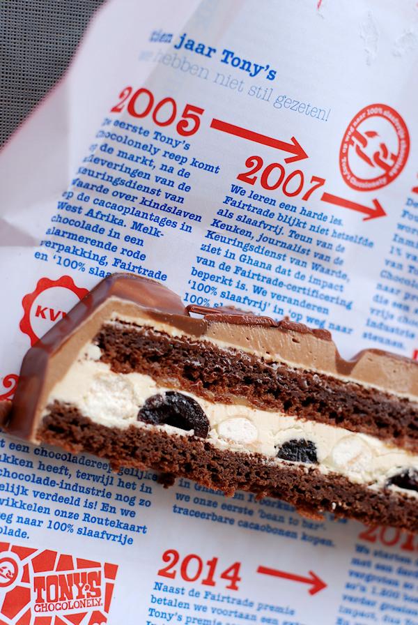 tony chocolonely's taart